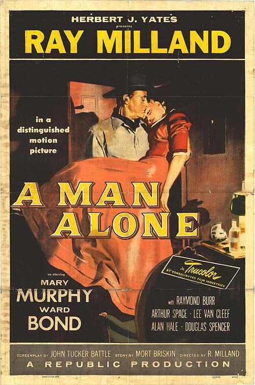 A Man Alone - Poster 1