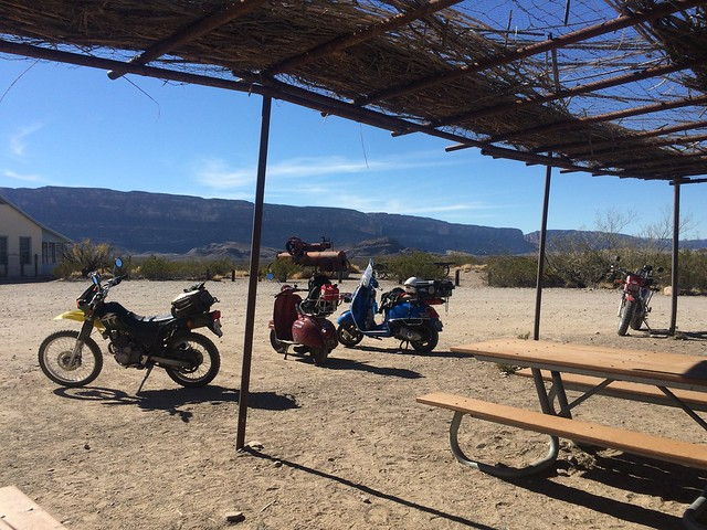 Dos Vesperados, Part 2: Hills, Canyons, Prada and I can see Mexico from my scooter. February 10-17, 2016.