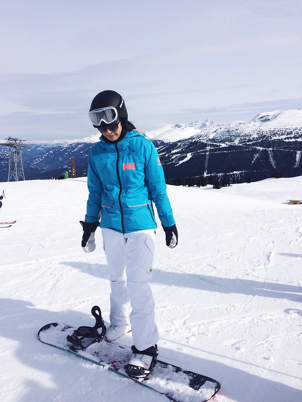 Snowboarding gear for women going to Whistler - Helly Hansen