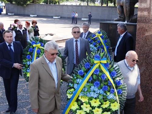 Вшанували пам'ять загиблих у другій світовій війні