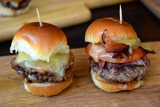 Cheesy Sliders by The Burger Brothers