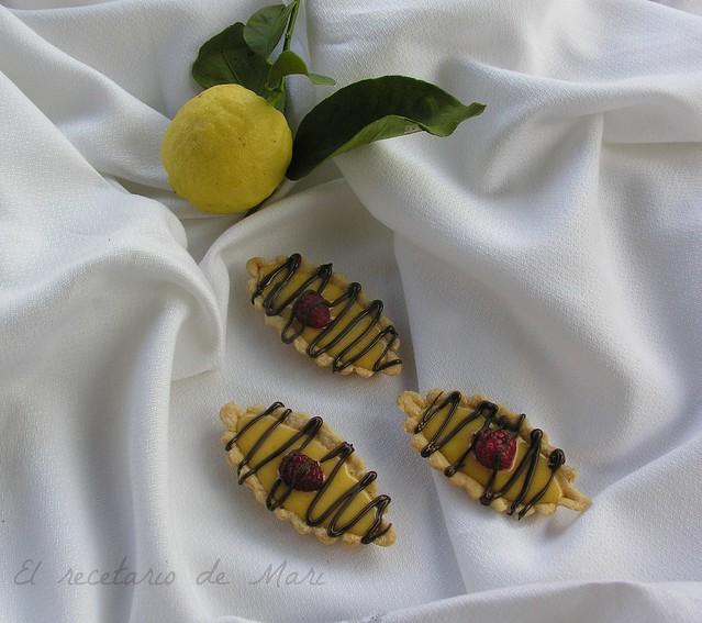 Barquitas de limón con chocolate (2)