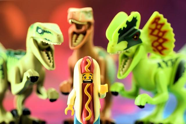 LEGO hot dog guy