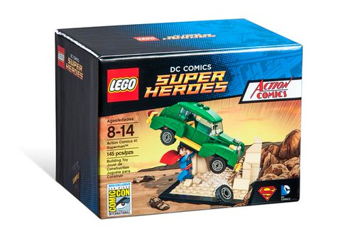 LEGO DC Comics Super Heroes Action Comics #1 Box