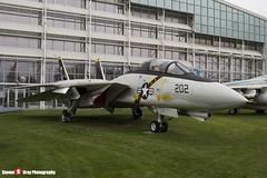 160382 AJ-202 - 238 - US Navy - Grumman F-14A Tomcat - The Museum Of Flight - Seattle, Washington - 131021 - Steven Gray - IMG_3767