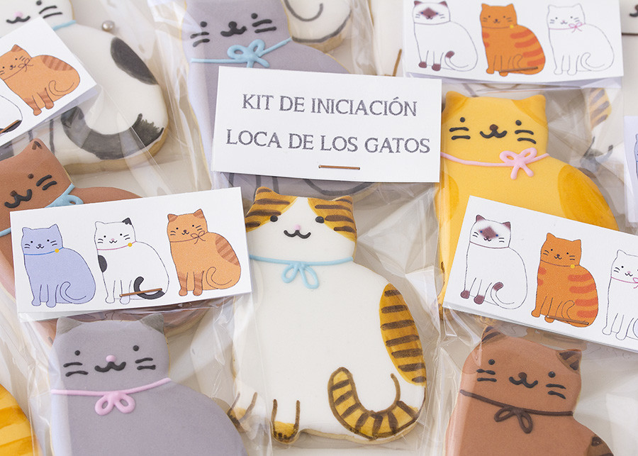 galletas decoradas gatos