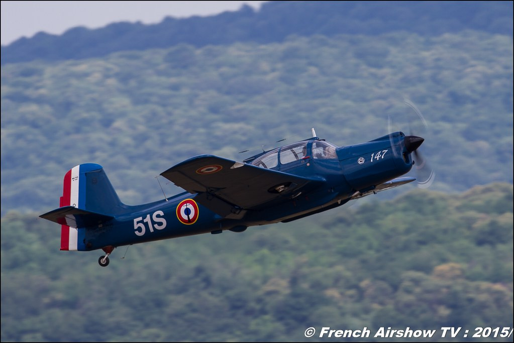 Morane-Saulnier MS-733 Alcyon - F-AZRP , Nostalgic'Aero, 70 ans BA-278 Ambérieu-en-Bugey, Meeting Aerien 2015