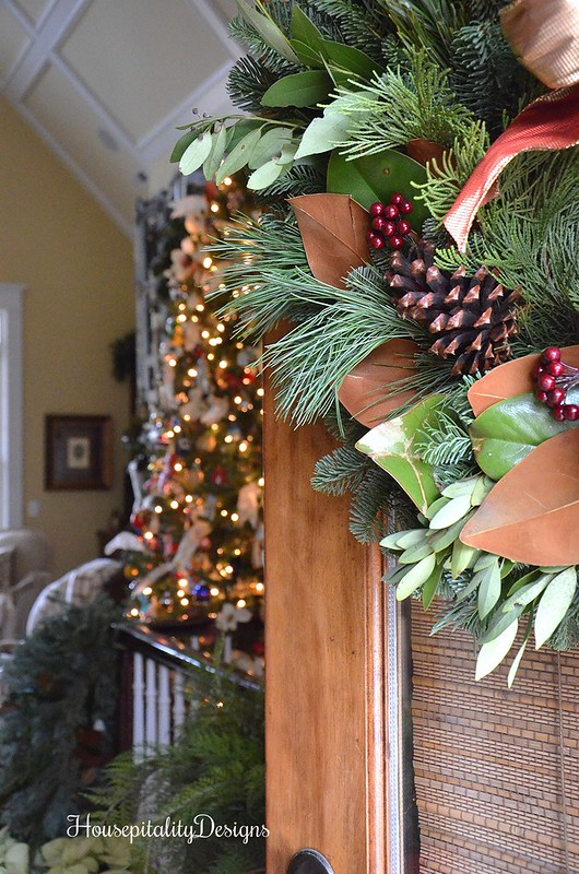 Door Wreath-Welcome-Housepitality Designs