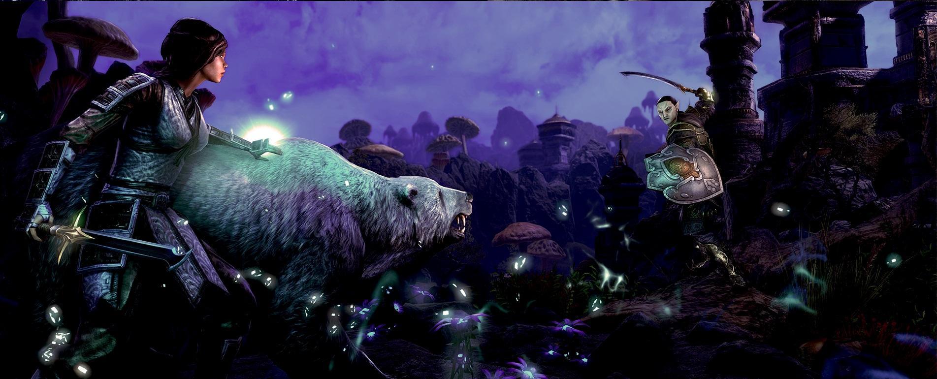 The Elder Scrolls Online Morrowind Screenshot 01