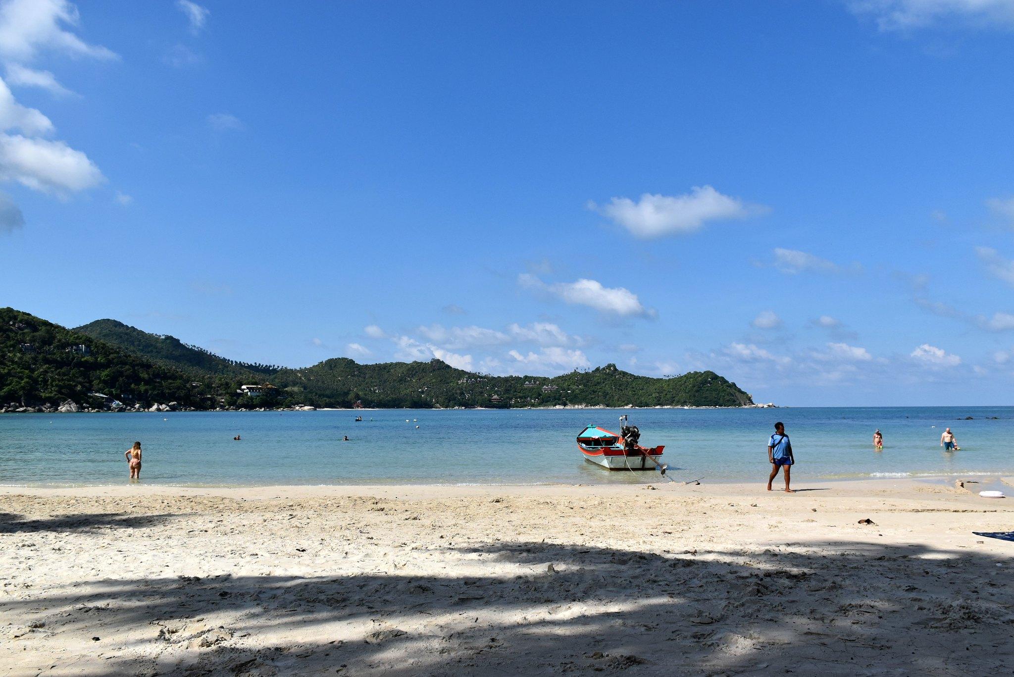 Панган, пляжи