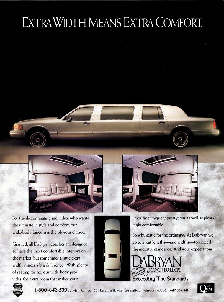 1995 Lincoln Town Car Limousine By Dabryan Coachbuilders Flickr