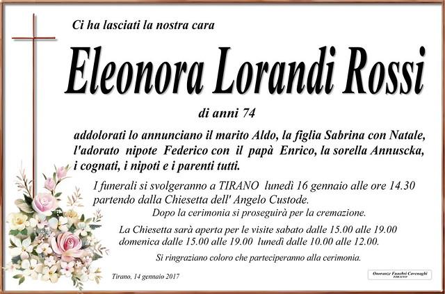 Eleonora Lorandi Rossi