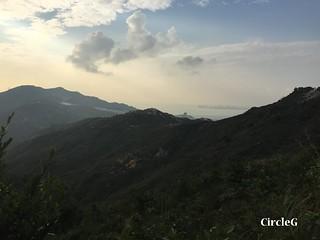 CIRCLEG 遊記 香港 屯門 菠蘿山 良景邨 日落  (31)
