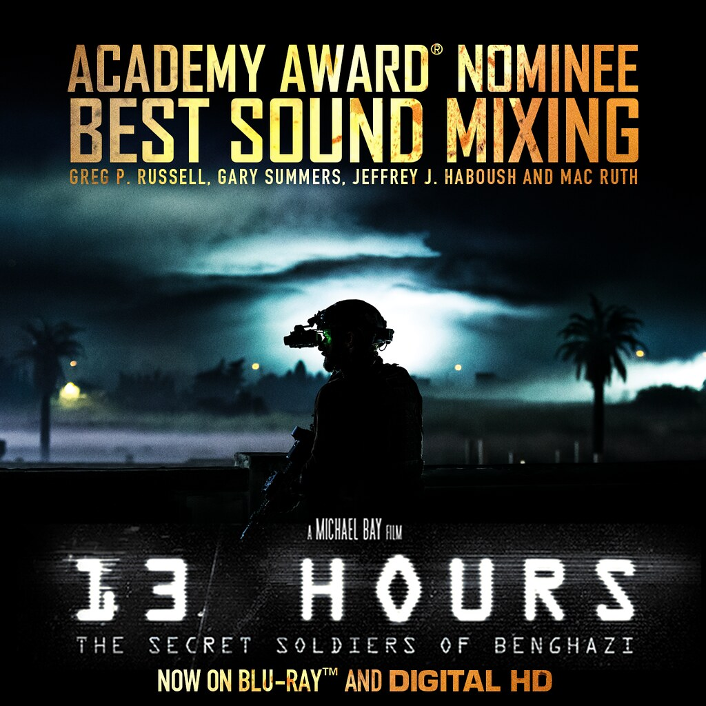 13 Hours Oscar Nomination