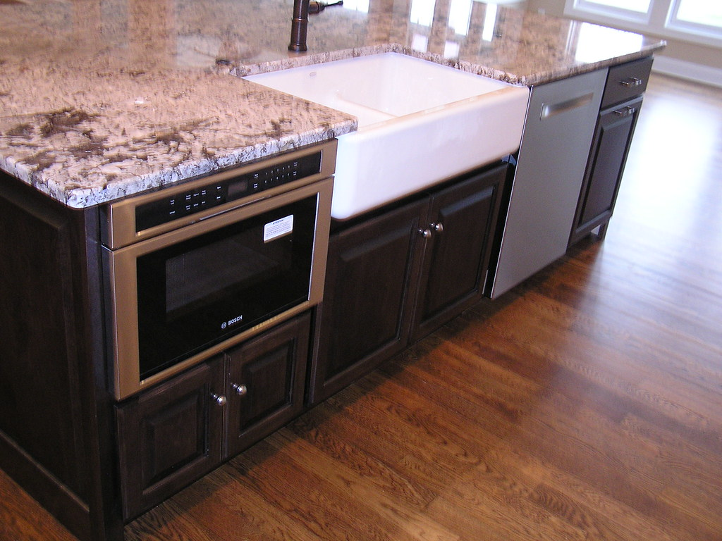 ... Kitchen Remodel Wedgewood Woodbury MN Stained Maple Island | By  Valleycustomcabinets.com