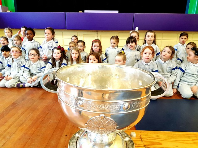 Sam Maguire Cup visits our school!