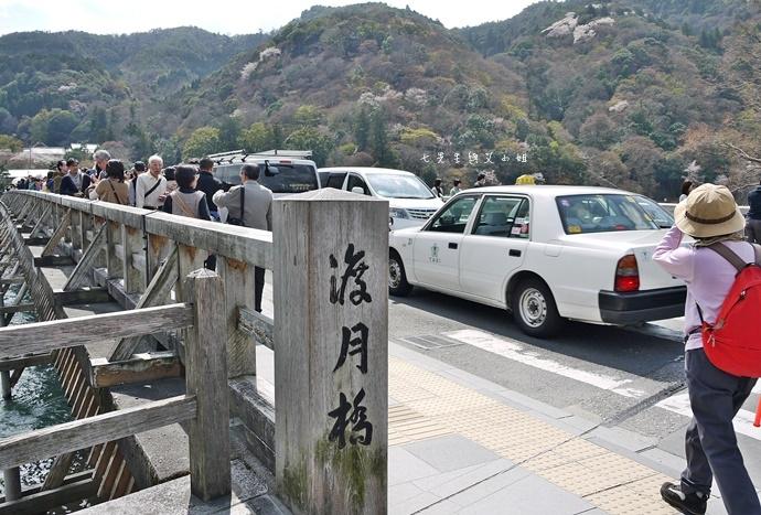 23 京都 嵐山渡月橋 賞櫻 櫻花 Saga Par 五色霜淇淋 彩色霜淇淋