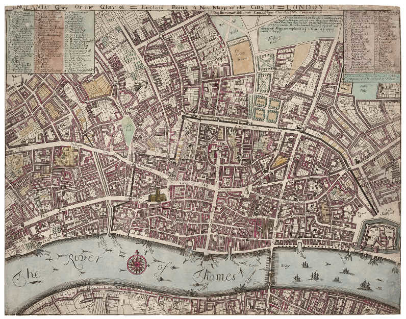 The Nightwalker And Nocturnal Picaresque Public Domain: 18th Century London Map At Infoasik.co