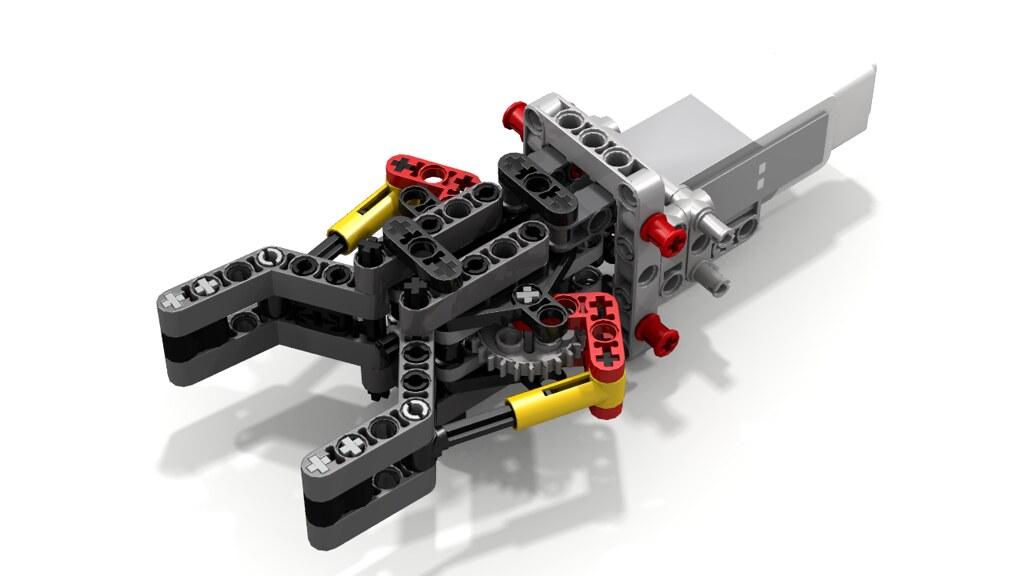Lego Robotic Gripper by Sophie, with EV3 Medium Motor | Flickr