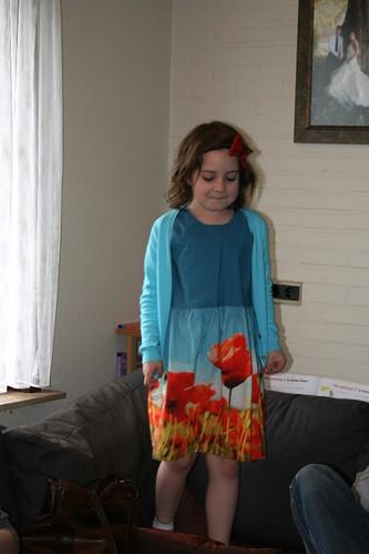 Feestkleedje voor Silke