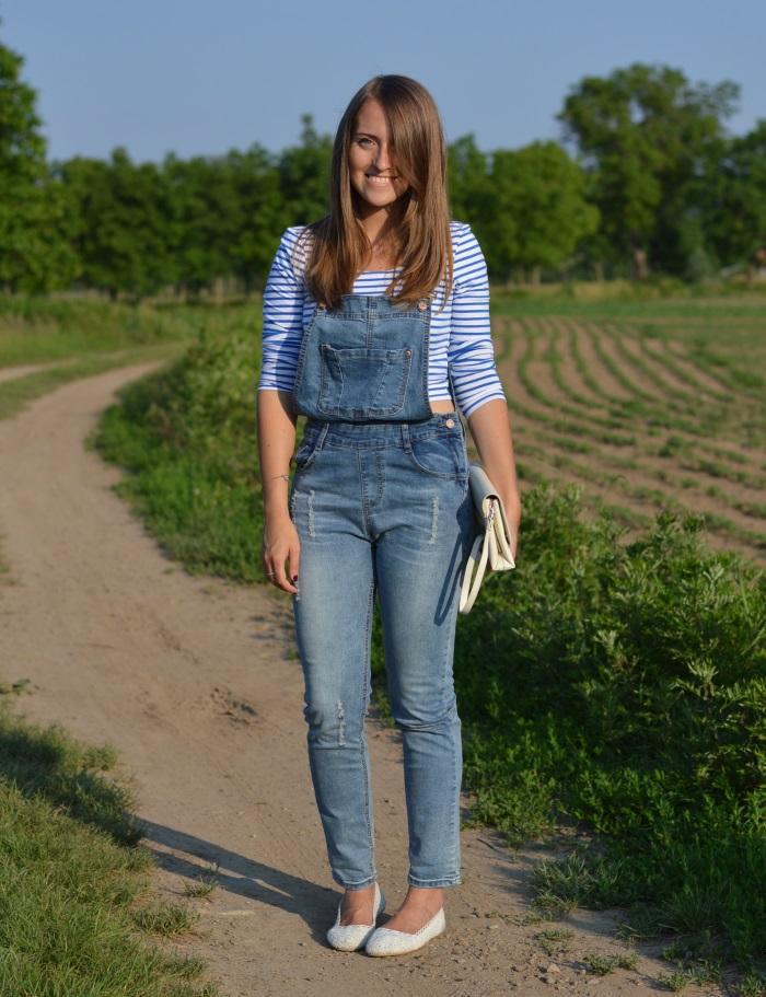 salopette, jumpsuit, wildflower girl, righe, vintage (17)