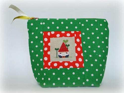 Gnome zipper pouch