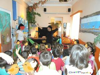 Παράσταση κουκλοθεάτρου-Εκπαιδευτικό πρόγραμμα