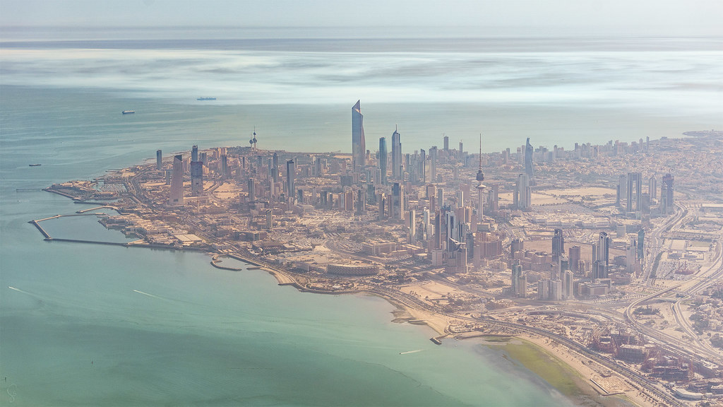 Back Up Alarm >> Kuwait City | The skyscrapers of Kuwait city rise out of the… | Flickr