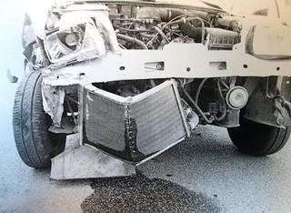 Rutigliano-Si agita e si scontra con un veicolo in sosta rilevanti i danni (2)