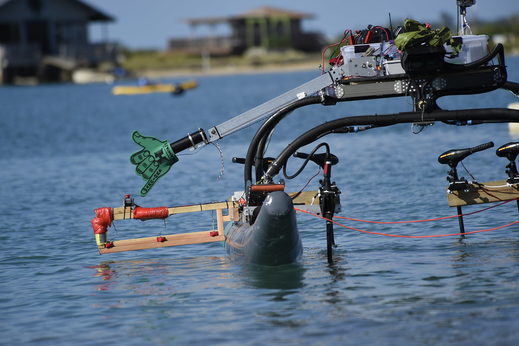 Image result for An Autonomous Surface Vehicle from University of Hawaii at Manoa