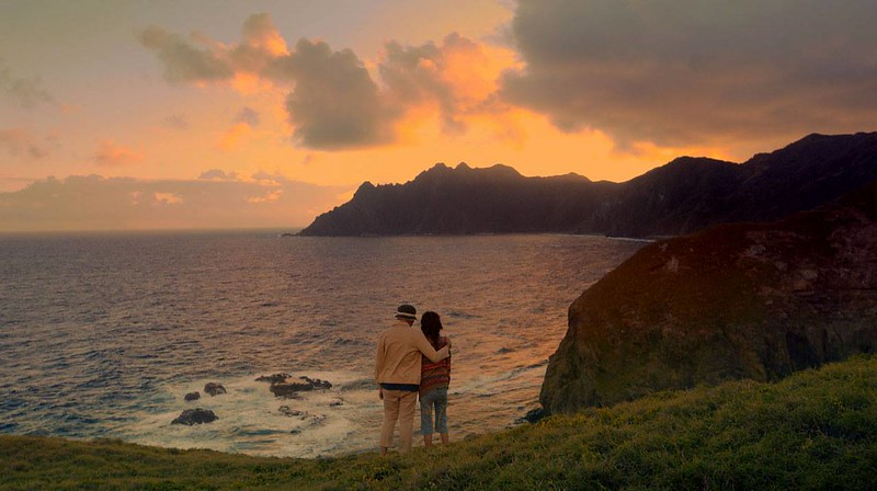 Sunset view from the hills of Batanes
