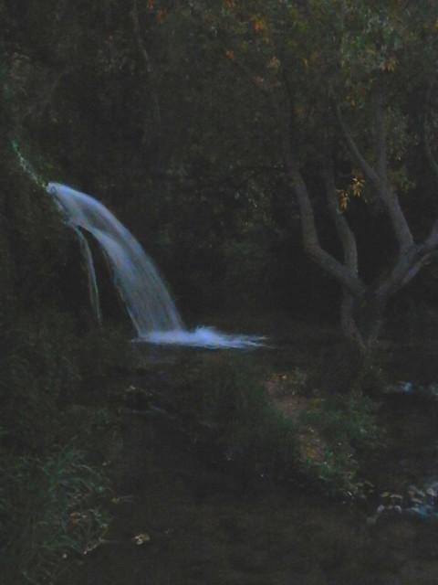 Una cascada en Calmarza