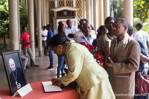 Funeral Bishop Javier Echevarria in Nairobi Kenya on 16 December 2016