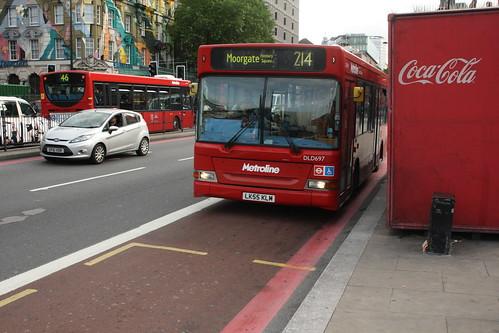 Metroline DLD697 LK55KLM