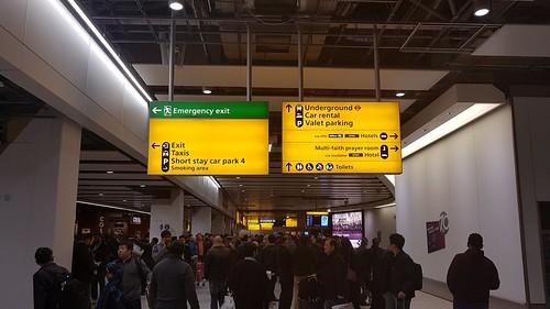 Arrival Lobby of Terminal 4, LHR