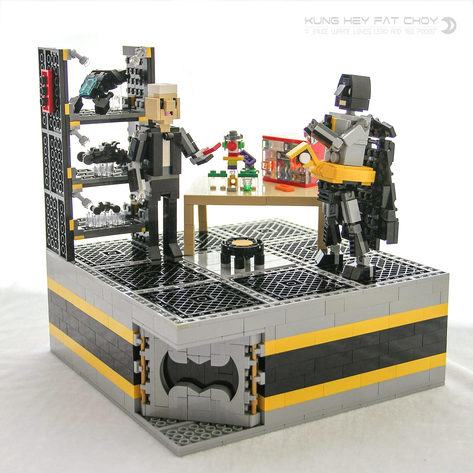 蝙蝠俠的秘密創意訓練室