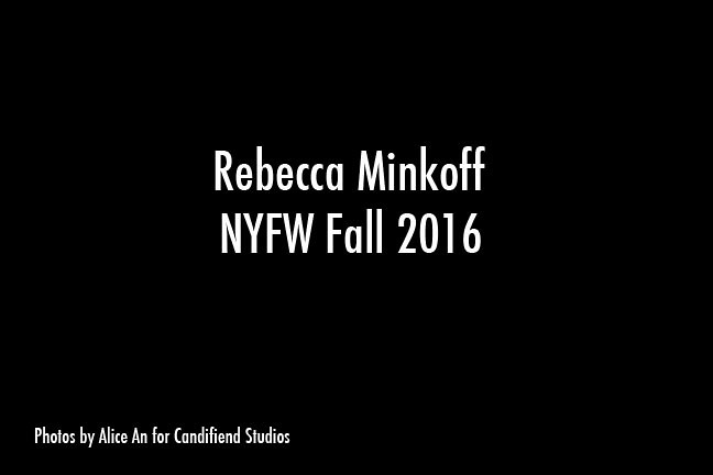 NYFW FW 2016 | Rebecca Minkoff