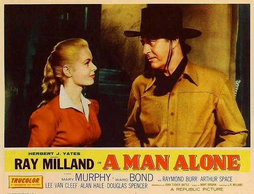 A Man Alone - lobbycard 2