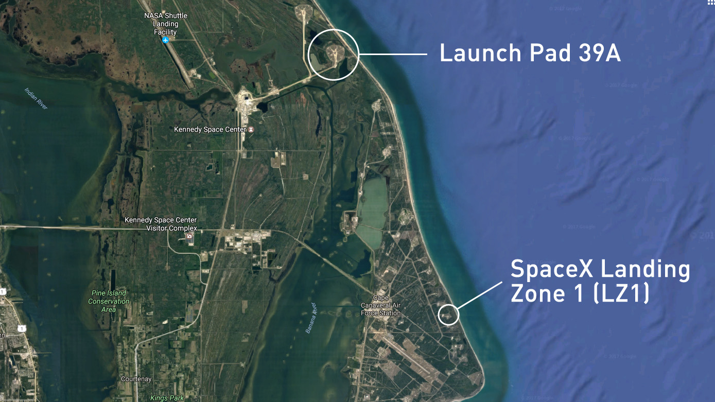 This incredible drone video of SpaceX's rocket landing must be CGI