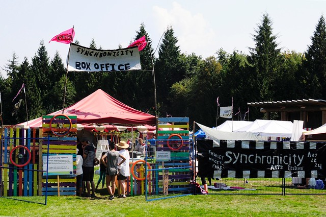 Synchronicity Festival in Gibsons