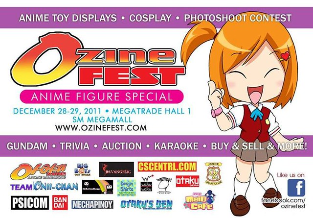 Ozine Fest 2011, Anime Convention, Cosplay, Figures, Japanese, Event (6)