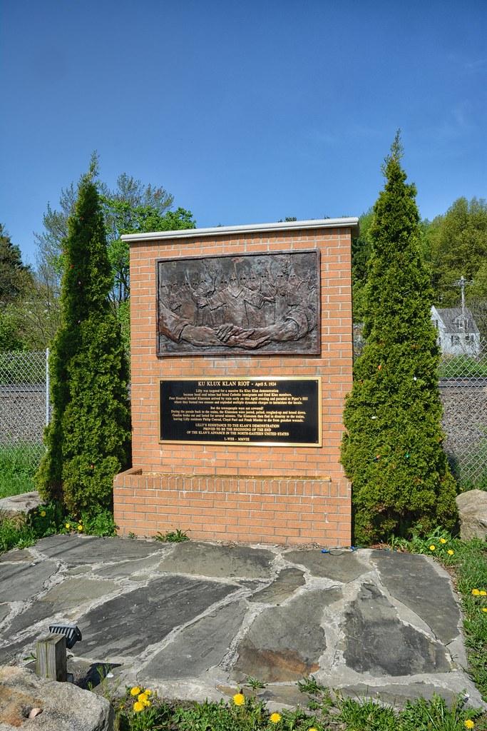 Klu Klux Klan Riot Monument