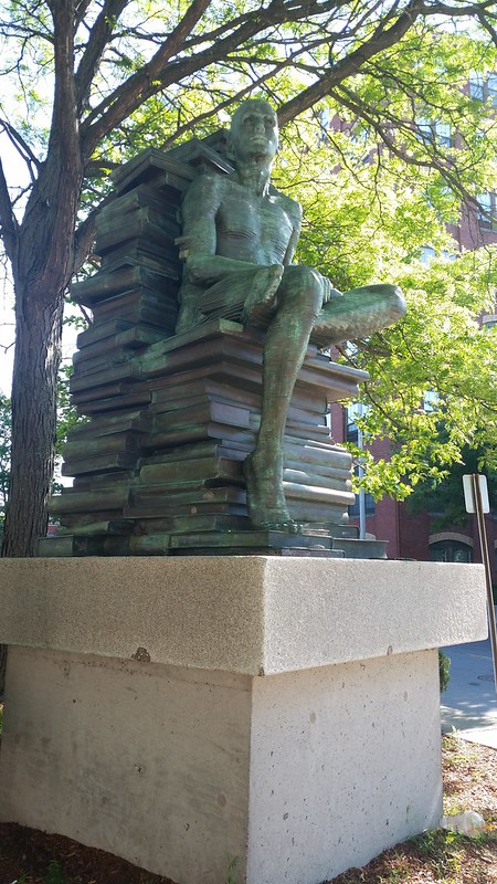 The Bookman Statue - 20150625_085830