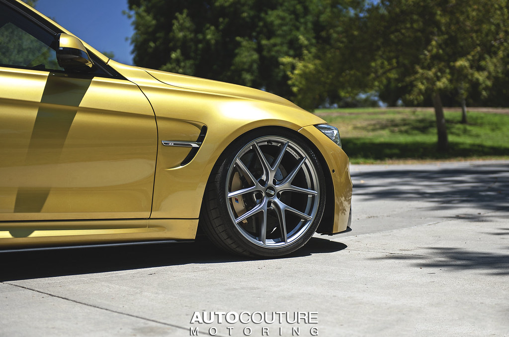 Acm West Bbs Ci R Wheels On The Austin Yellow M3
