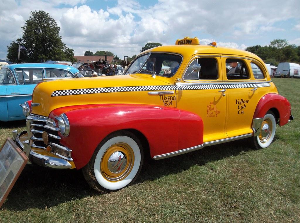 1948 Chevrolet Fleetmaster RHD taxi RSV582 | Apparently manu… | Flickr