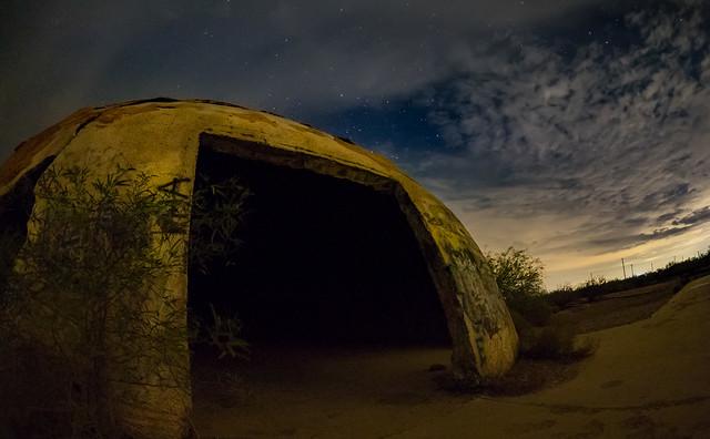Deep Night at the Casa Grande Domes - Arizona