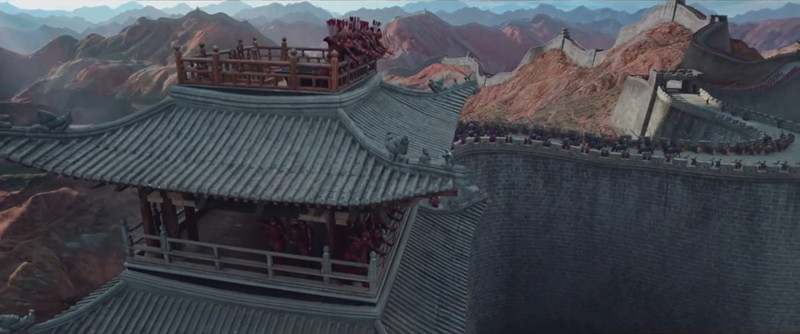 The Great Wall Filming Locations