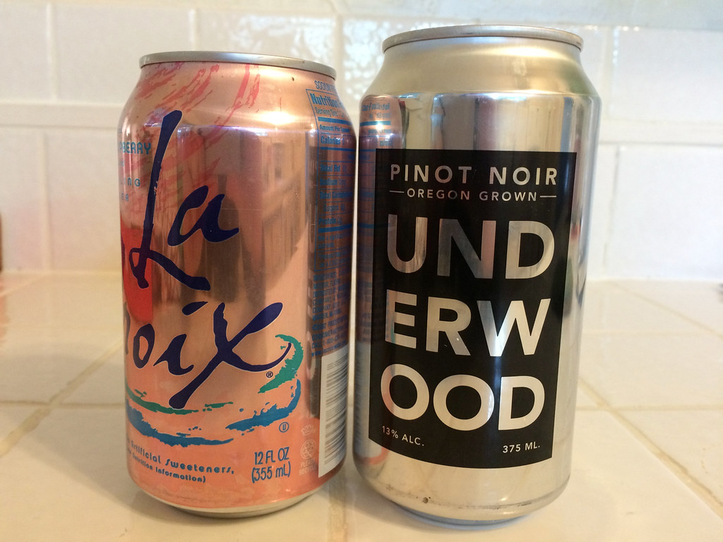 Underwood Pinot Noir in a can