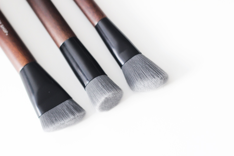 The Body Shop Vegan Brushes - Contouring, Slanted Blusher and Buffing