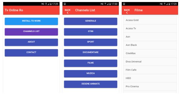 TV online Android: Cele mai bune aplicatii pentru TV 140